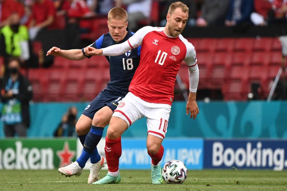 Christian Eriksen fue 'estabilizado' y 'trasladado al hospital' | Fútbol |  Deportes | El Universo