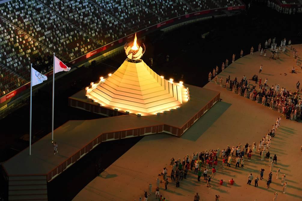 Las imágenes de la inauguración del JJ. OO. de Tokio; entre protestas y fiestas se encendió la llama | Otros deportes | Deportes