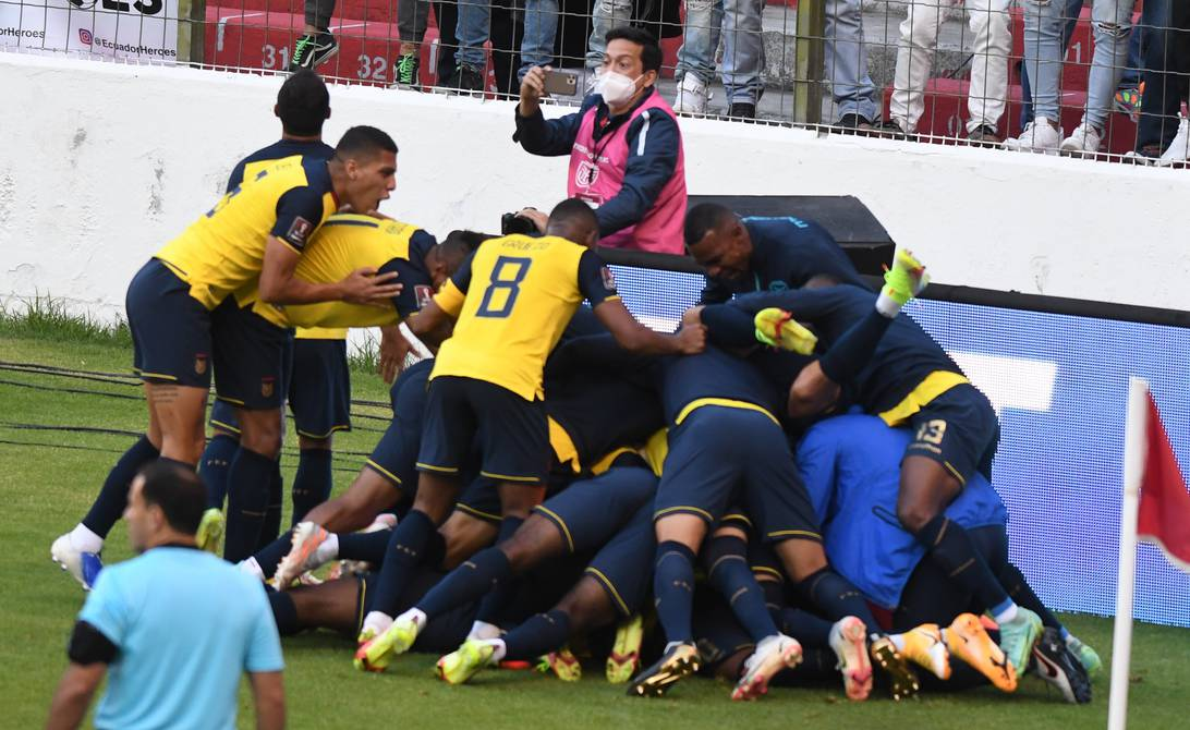The Tricolor was reunited with victory! Ecuador beat Paraguay 2-0 in Quito for the Qatar 2022 tie | Football | sports