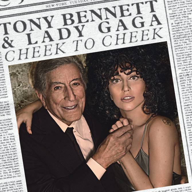 Tony Bennett y Lady Gaga, dos polos que se funden en 'Cheek to Cheek' |  Música | Entretenimiento | El Universo