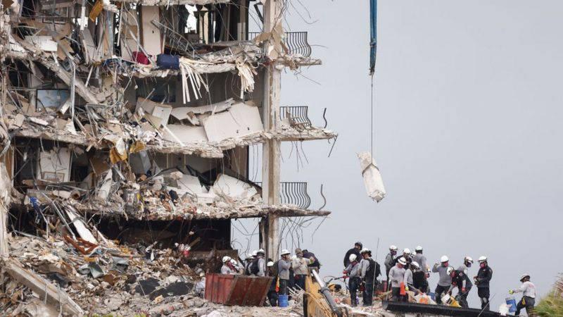 Colapso en Miami: la polémica por la decisión de vender el terreno donde se derrumbó el edificio, dejando al menos 97 muertos   Internacional   Noticias