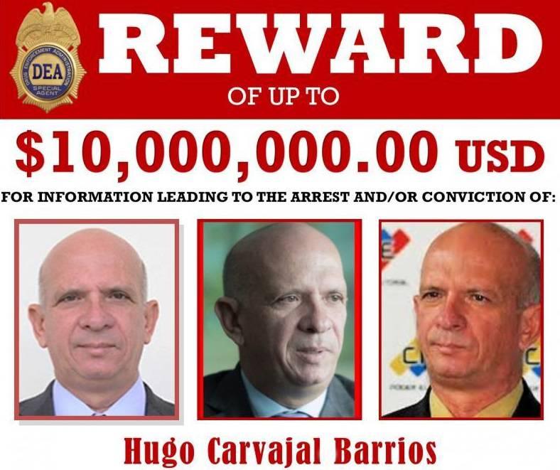 Detienen en España a Hugo Carvajal, exgeneral chavista reclamado por  Estados Unidos | Internacional | Noticias | El Universo