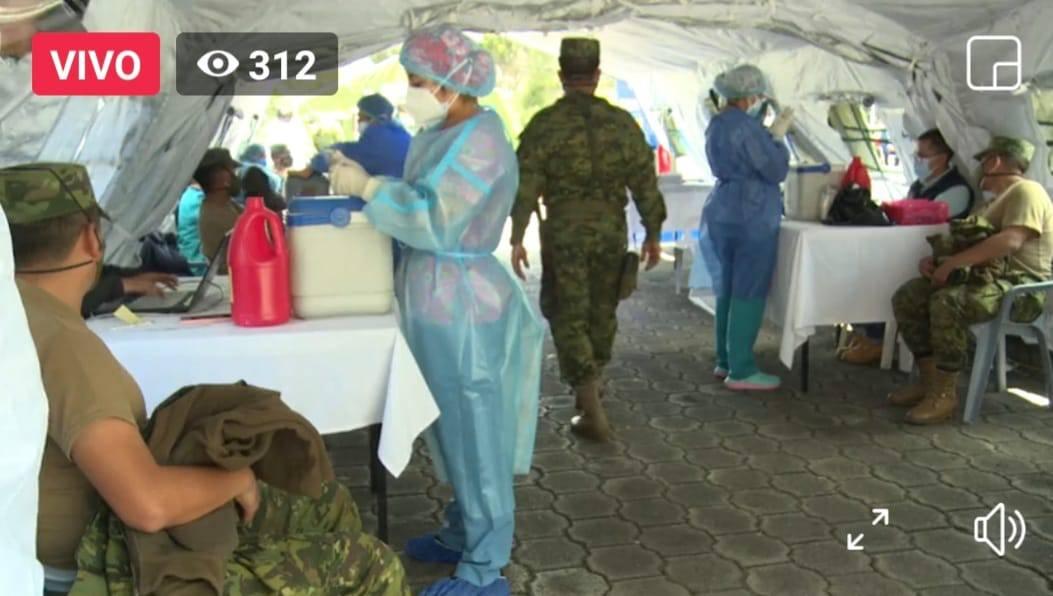Vacunar hasta 50.000 personas al día es la meta que se plantea el nuevo ministro de Salud, Camilo Salinas