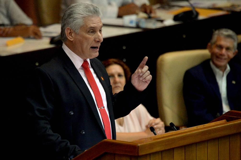 El presidente de Cuba, Miguel Díaz-Canel, rechaza informe de derechos humanos de EE. UU. que criticó a su régimen | Internacional | Noticias | El Universo