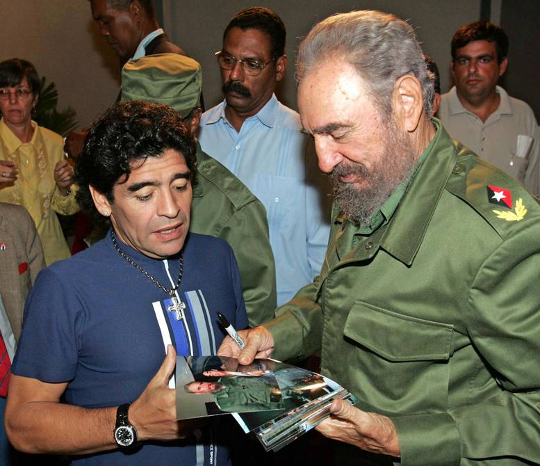 The story of Diego Armando Maradona and Mavys, the Cuban who conquered the heart of the '10' and who was going to enter Argentina in a suitcase | Football | sports